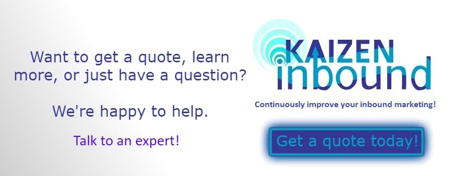 inbound marketing services quote
