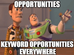 keyword opportunities everywhere